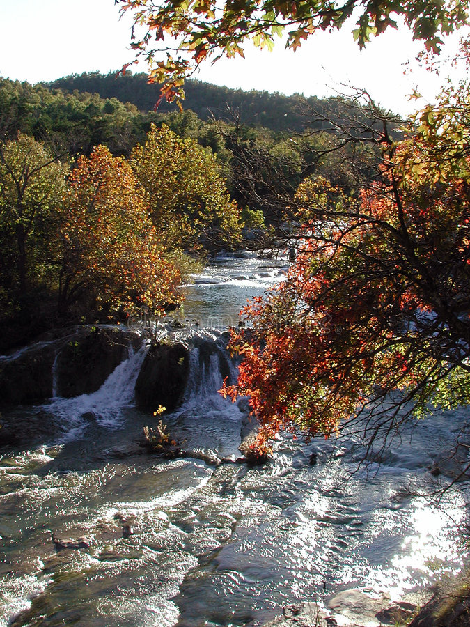 Download Honey Creek Autumn stock image. Image of fall, autumn, scenic - 112115