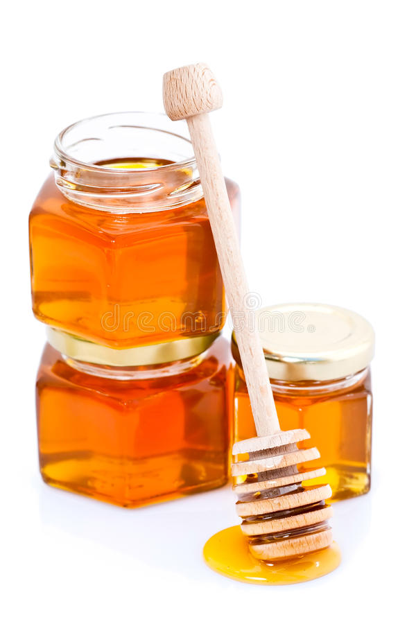 Download Honey Dipper With Honey Stock Photos - Image: 16190413