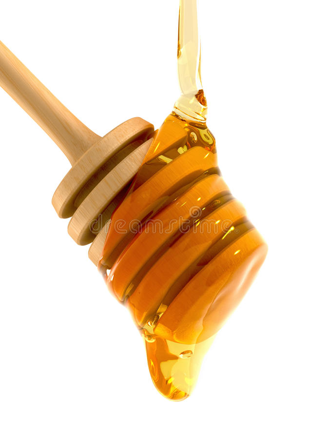 Download Honey Dripper stock illustration. Image of breakfast - 10520149