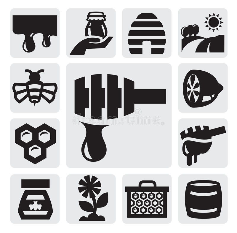 Download Honey icon stock vector. Image of collection, honey, creature - 26923679