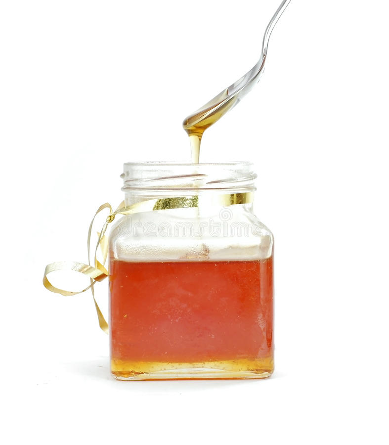 Download Honey jar stock photo. Image of organic, product, sticky - 10221436