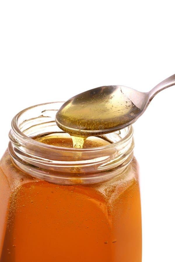 Free Honey Jar Royalty Free Stock Photography - 4086247