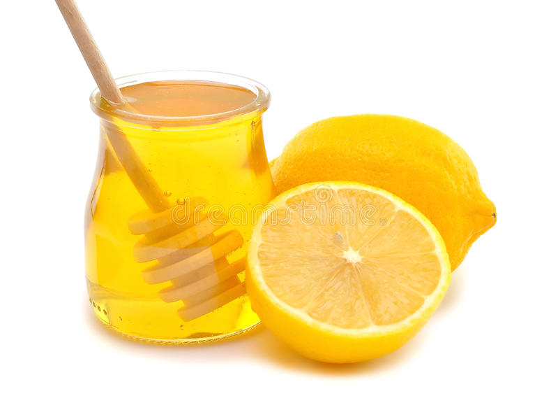 Download Honey and lemon stock photo. Image of yellow, citrus - 26214792