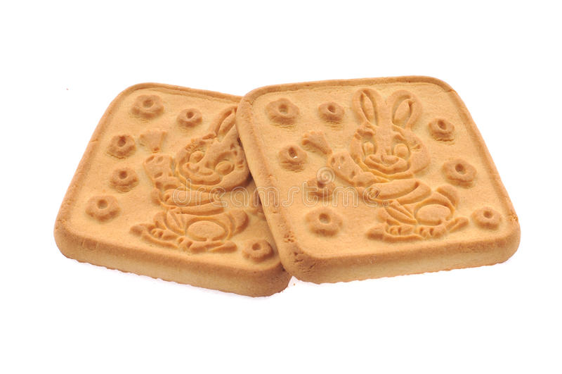 Honey,milk cookies isolated stock photography