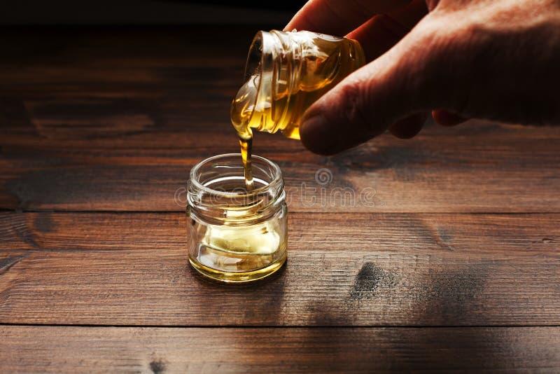 Honey The Nectar puro dos deuses imagem de stock