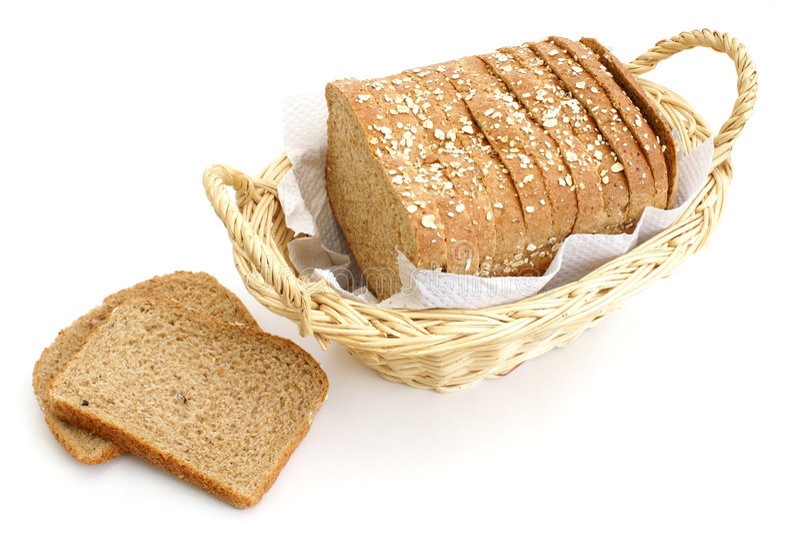 Honey and Oats Bread stock photo