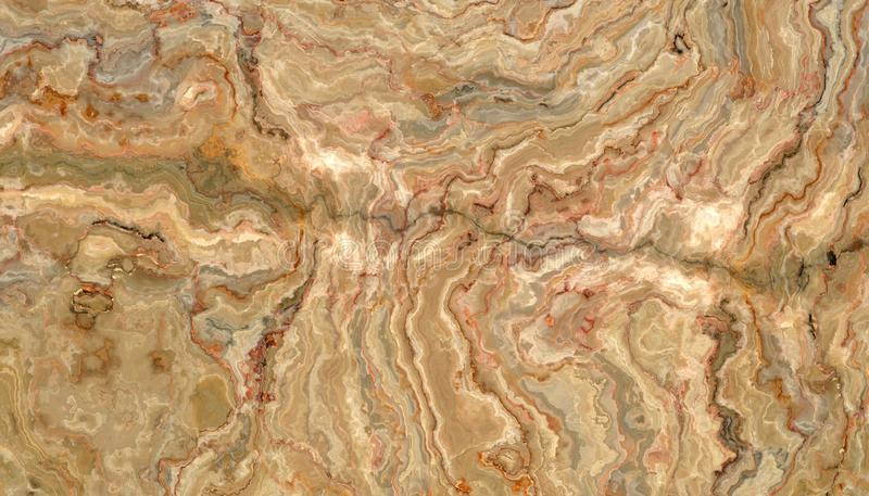 Honey Onyx Tile-textuur royalty-vrije illustratie