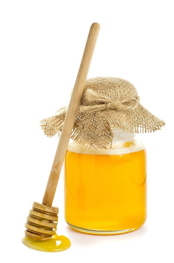 Honey pot royalty free stock image