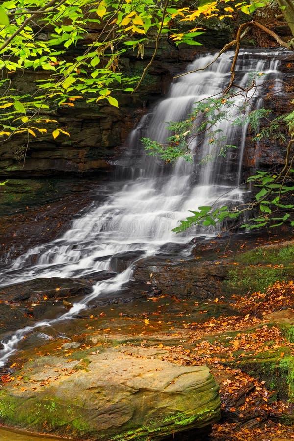 Honey Run Waterfall stockfotografie