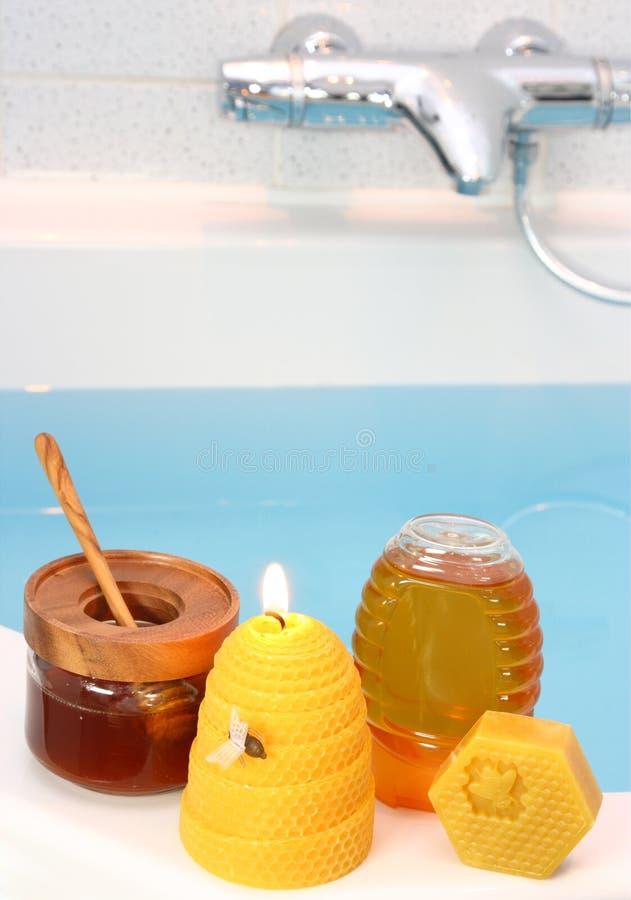 honey spa στοκ φωτογραφίες