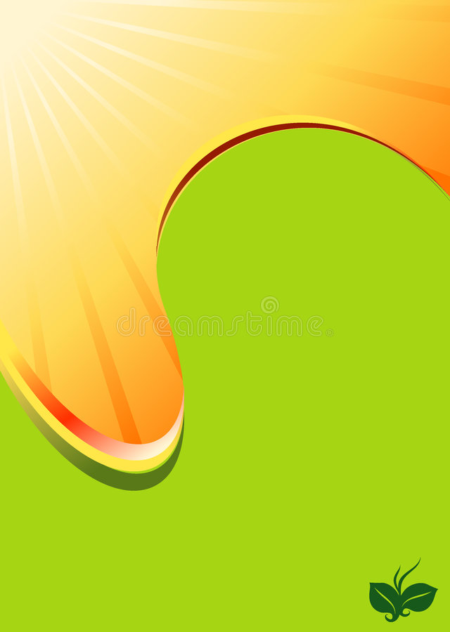 Download Honey Sun Flow Spot Abstract Background Stock Vector - Image: 6560327