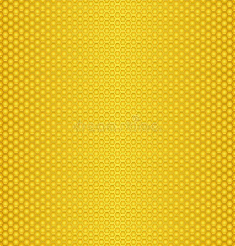 Honey texture stock illustration