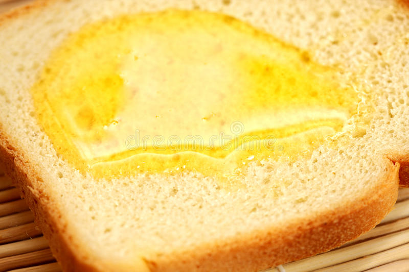 Download Honey on toast stock image. Image of objects, nobody - 12244593