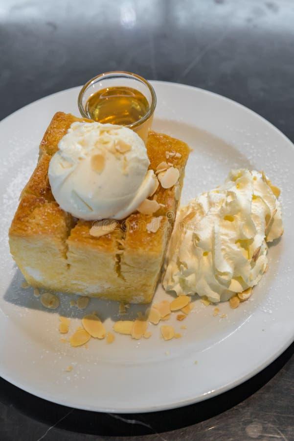 Honey Toast immagine stock