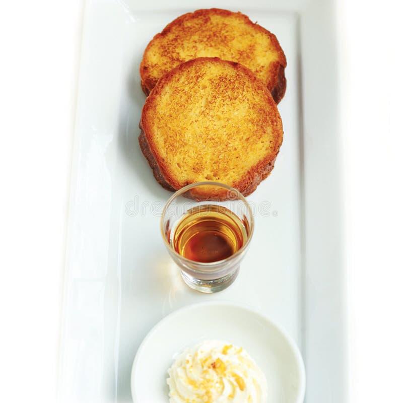 Honey Toast fotografia stock