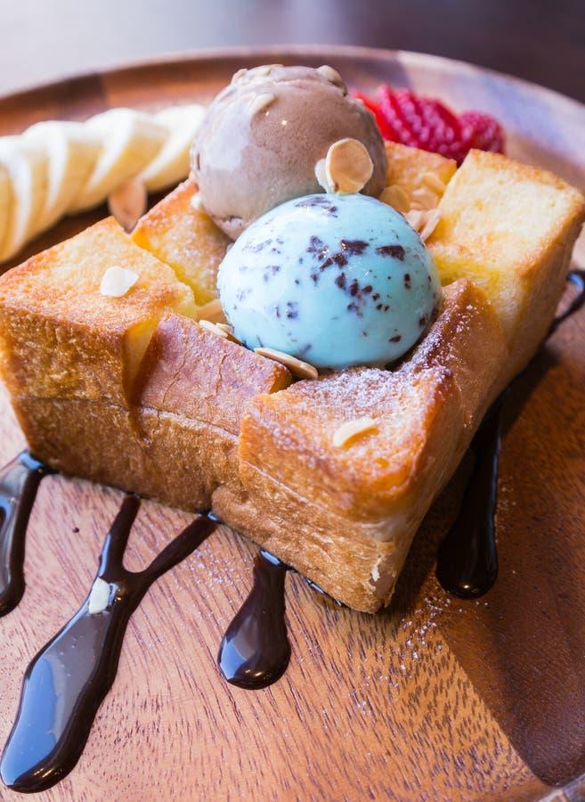 Honey Toast photographie stock libre de droits