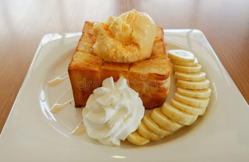 Honey Toast images libres de droits