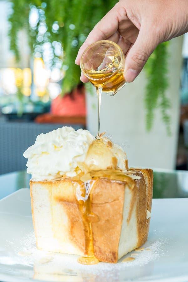 Honey Toast immagini stock