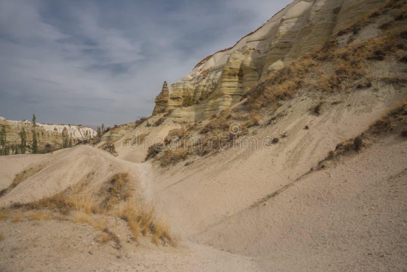 Honey Valley in Cappadocia, Schlucht Baydere Überraschende Berglandschaft in der Mittel-Türkei stockbilder
