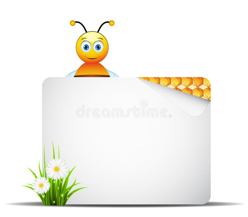 Download Honey stock vector. Image of organic, honey, space, reflection - 37523538