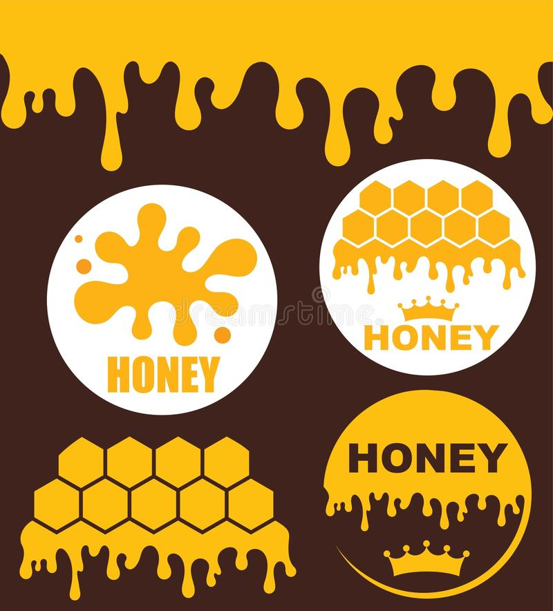 Honey royalty free illustration