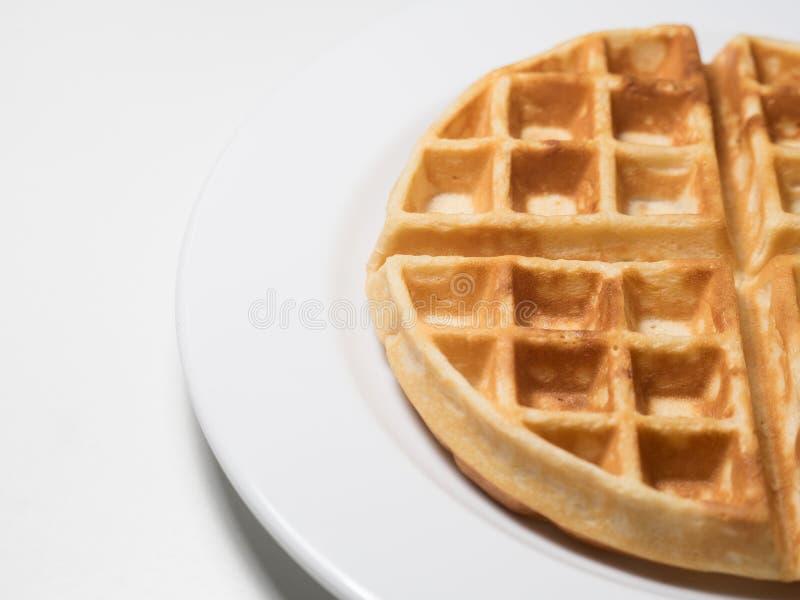 Honey Waffle royalty free stock image