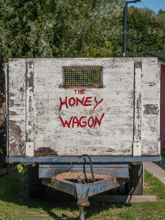 Honey Wagon imagem de stock royalty free