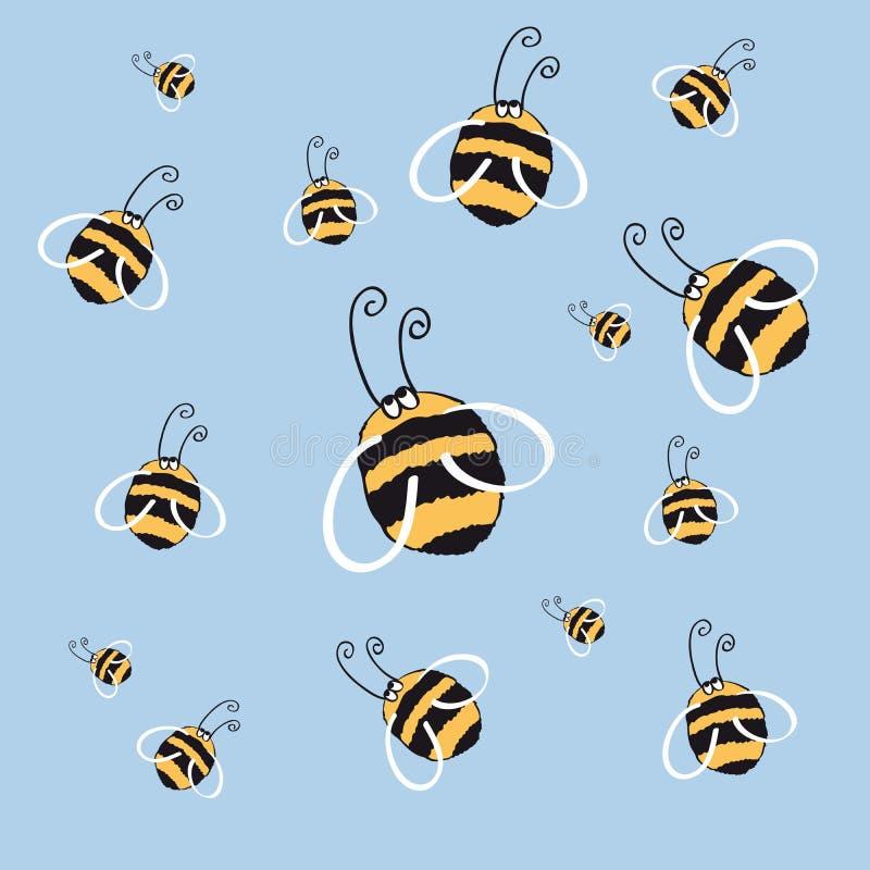 honeybee illustrazione di stock