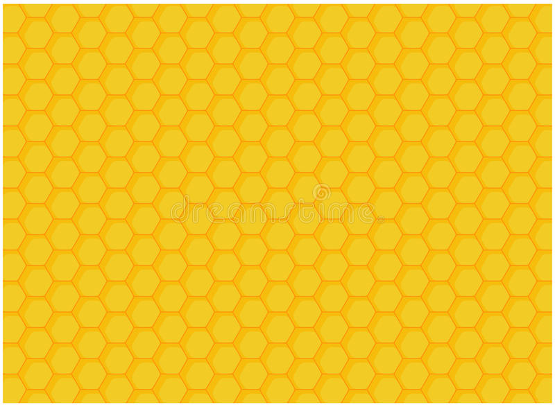 Honeycomb. Gold yellow honeycomb background for all vector illustration