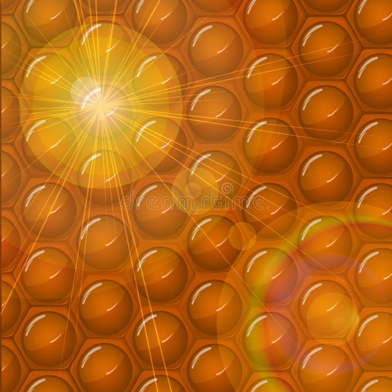 Download Honeycomb Abstract Background Stock Vector - Image: 24199439