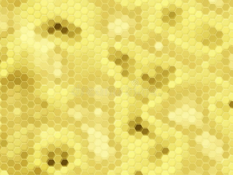 Download Honeycomb background: gold stock illustration. Image of honeycomb - 1173089