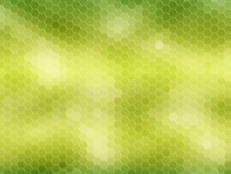 Honeycomb background: green royalty free stock photos