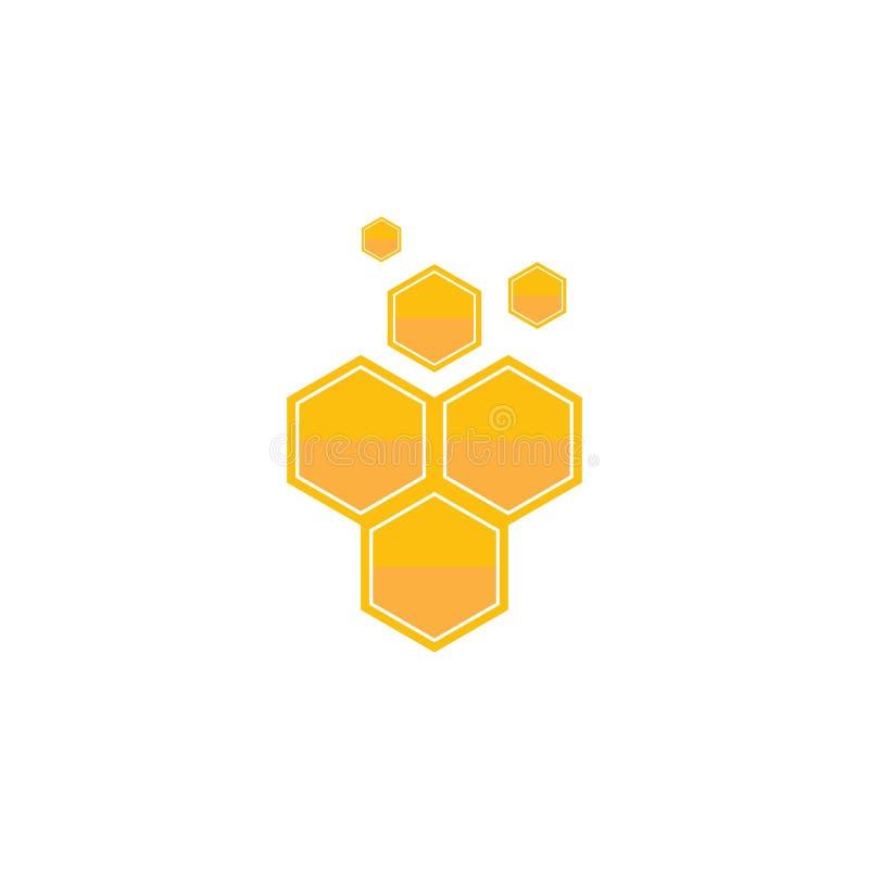 Honeycomb background texture illustration design. Honeycomb background texture illustration design, icon, insignia, natural, nectar, organic, pollen, pot stock illustration