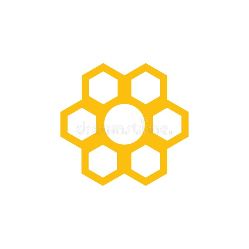 Honeycomb background texture illustration design. Honeycomb background texture illustration design, icon, insignia, natural, nectar, organic, pollen, pot royalty free illustration