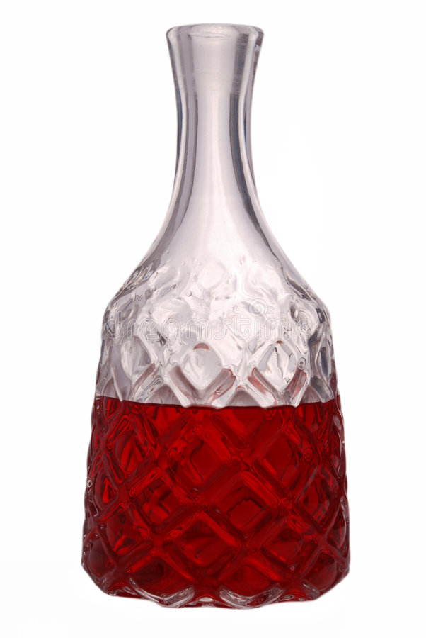 Honeycomb carafe stock images