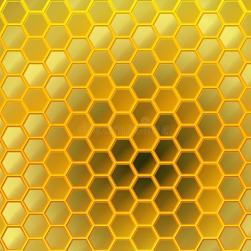 Honeycomb Design royalty free stock photo