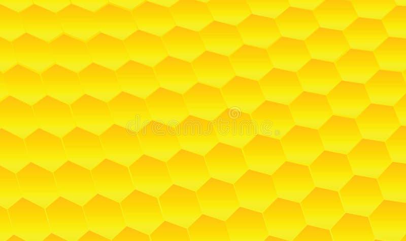 Download Honeycomb design stock illustration. Illustration of hexagon - 15204394