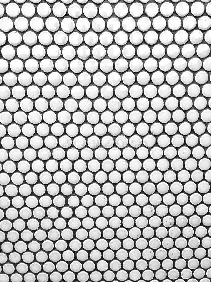 Honeycomb hexagon pattern tile frame. Honeycomb hexagon pattern tile on floor in modern business building stock images