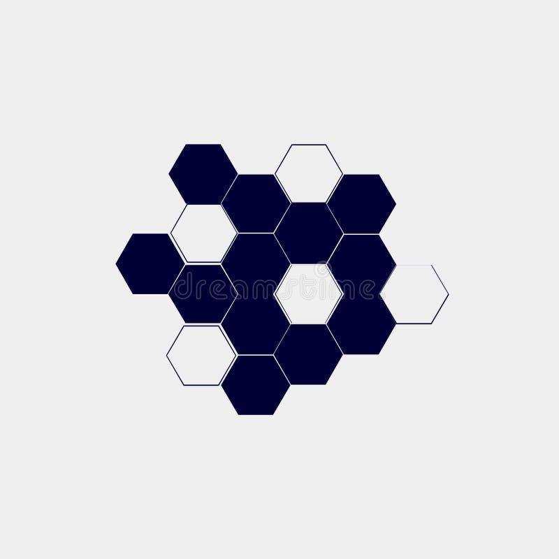 Honeycomb ikona royalty ilustracja