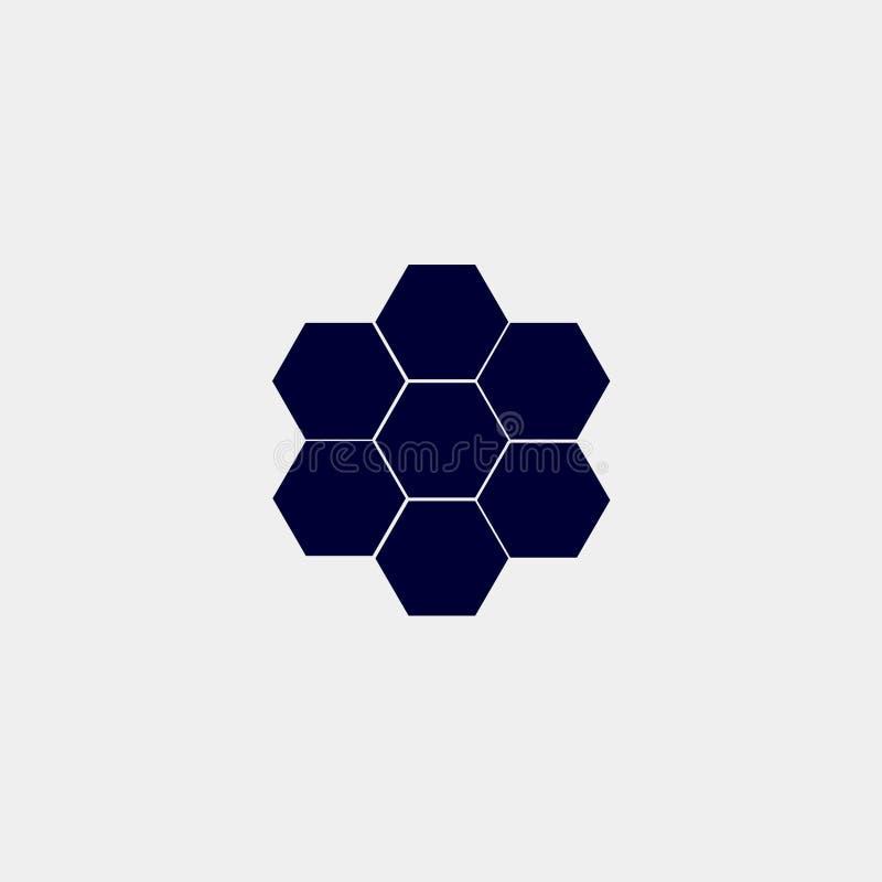 Honeycomb ikona ilustracji