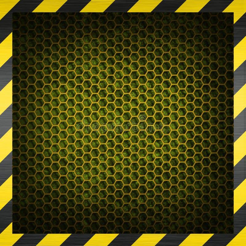 Honeycomb metalu tło obraz royalty free