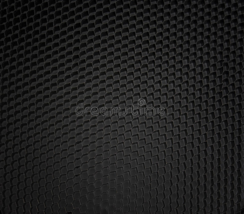 Honeycomb micro fiber pattern texture. Black detailed honeycomb micro fiber pattern texture stock images