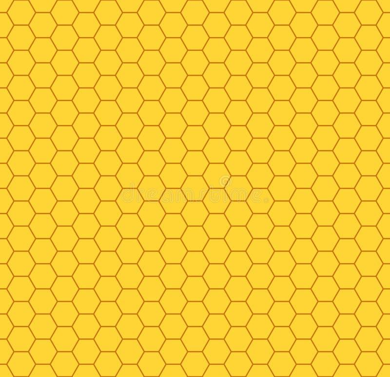Honeycomb pattern stock photography