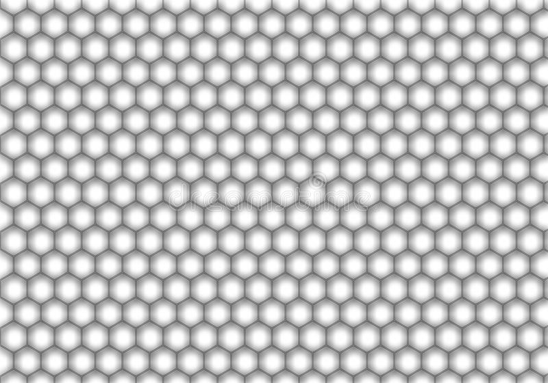 Honeycomb pattern. Black and white Honeycomb pattern stock photos