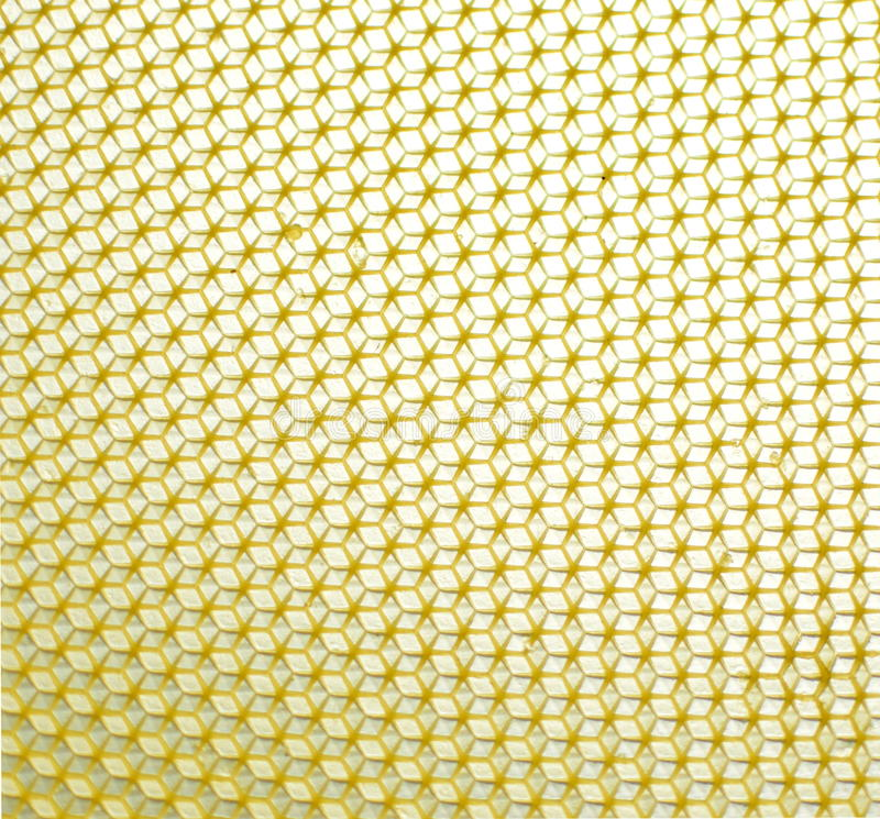 Honeycomb pattern stock photography