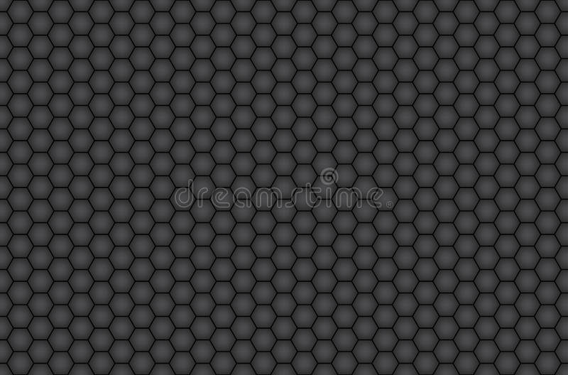 Honeycomb. Seamless background pattern. Vector stock illustration