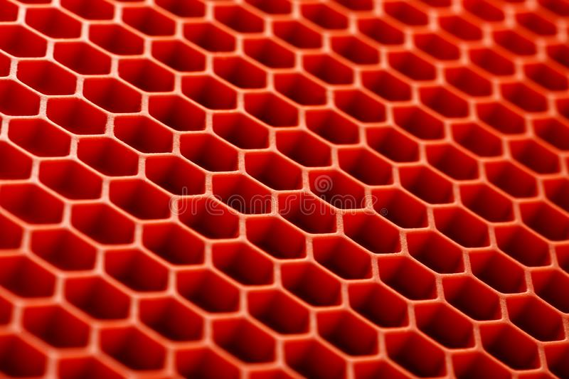 Honeycomb surface abstract texture, macro shot stock images