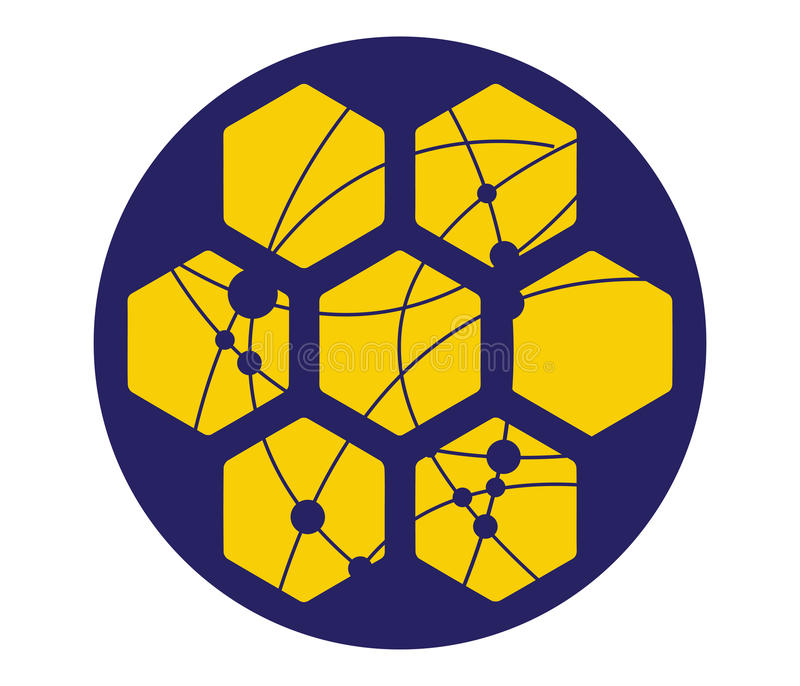 Download Honeycomb With Technology Icon Concept Stock Vector - Image: 83704429
