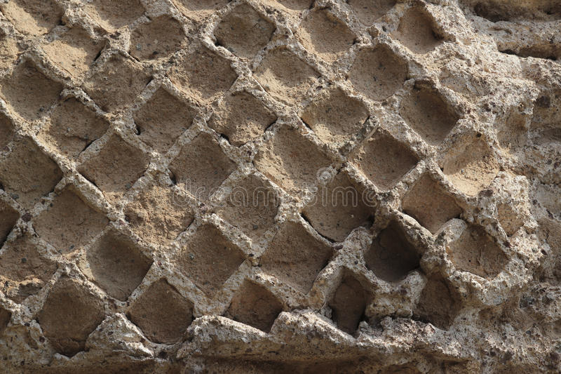 Honeycomb Wall Texture royalty free stock images