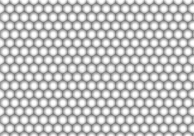 Honeycomb wzór zdjęcia stock